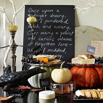 Untraditional and Elegant Halloween   B Lee Events