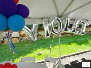 Balloon Decor - Name in Balloons