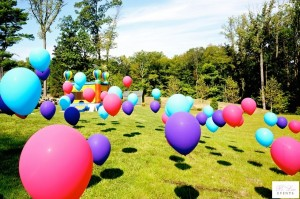 Balloon Decor - Backyard