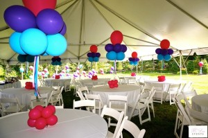 Balloon Decor - Balloon Centerpieces