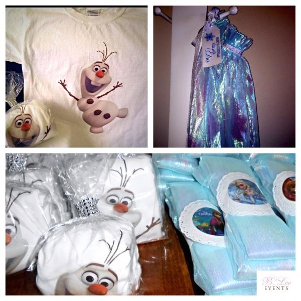 Kids Birthday Party Favor - Frozen Theme