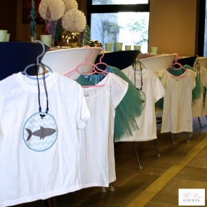 Kids Birthday Party Favor - Mermaid and Shark Theme