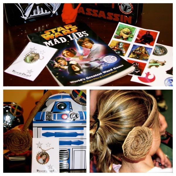Kids Birthday Party Favor - Star Wars Theme