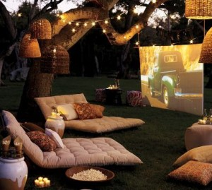 Drive in Movie Party