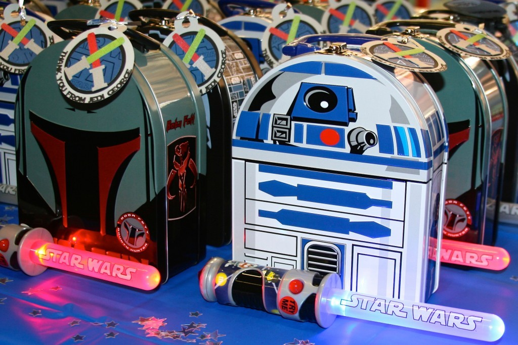 Star Wars themed party favors
