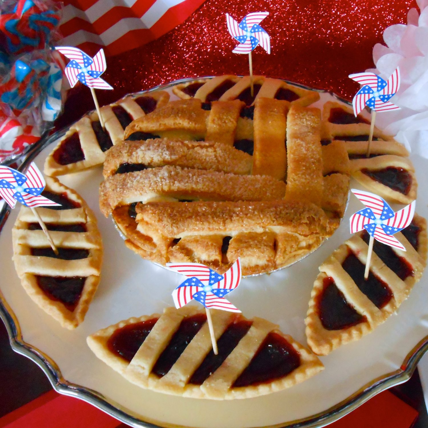 Traditional 4th of July Dessert