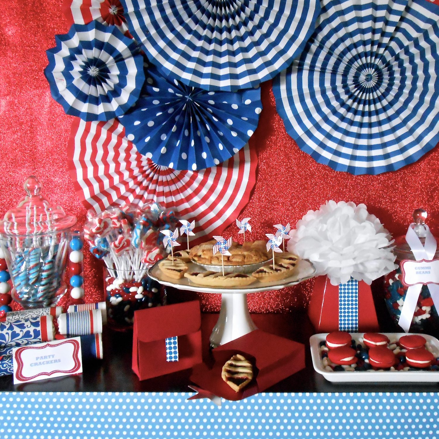 4th of July Backdrop