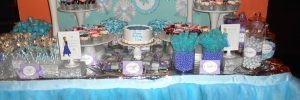 Frozen Dessert table