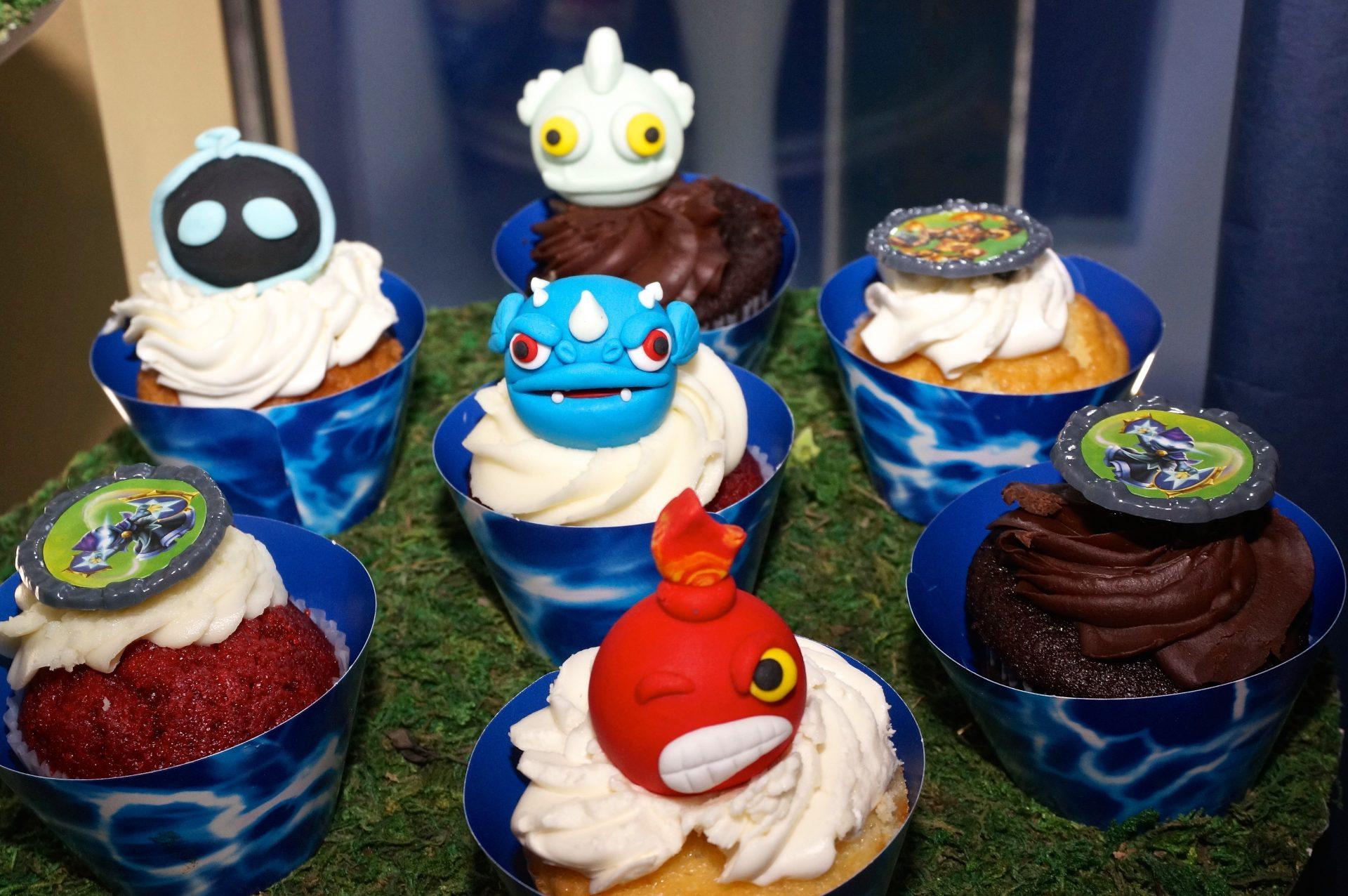 KidsParty_Skylander_Cupcakes_2
