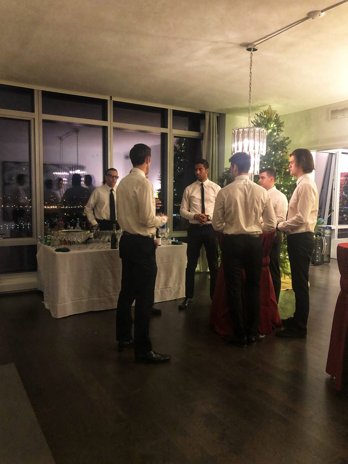 Catering and Staffing NYC Party
