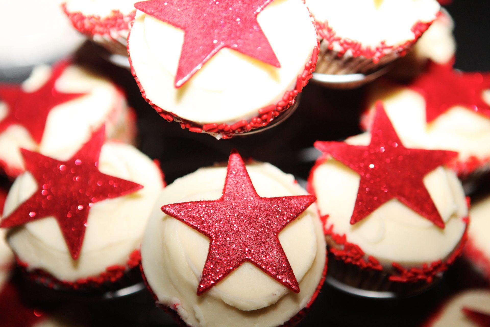 Cupcake Tower Birthday Desserts