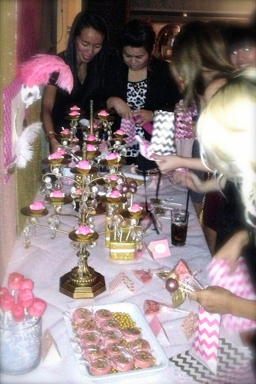 NYC Dessert Table
