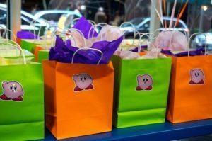 Kirby Favor Bag