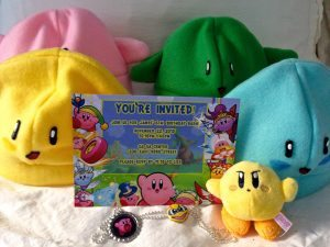 Kirby Birthday Party Favors