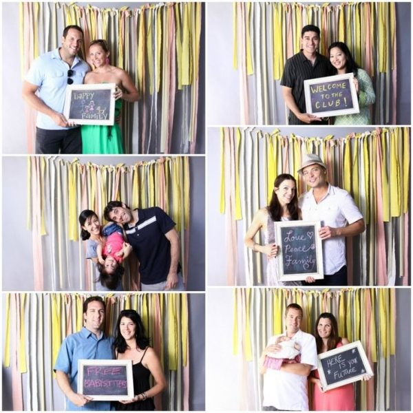 Photo Booth for Baby Shower