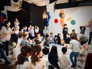 STEM Birthday Party Activity