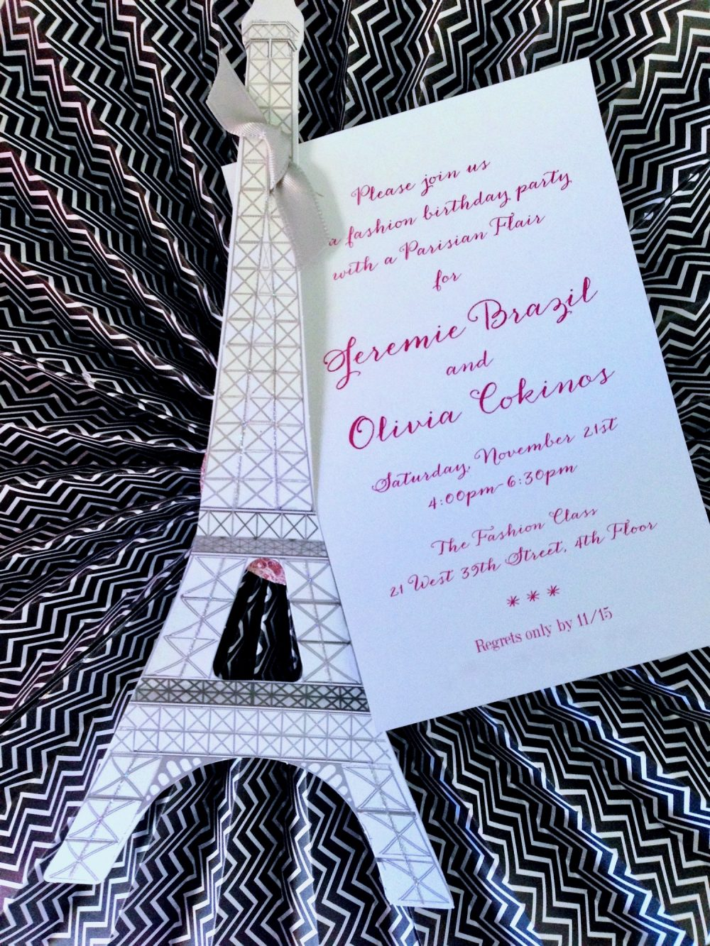 Tres Fabulous! Fashion Party with Parisian Flair | B Lee Events