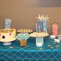 Mermaid Inspired Dessert Table