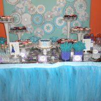 Frozen Inspired Dessert Table