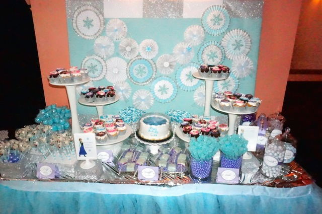 baby shower dessert table NYC